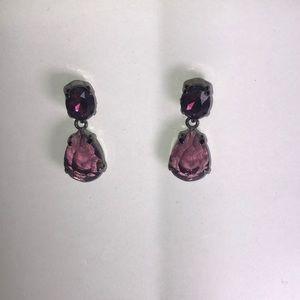 ⭐️3/$15 Purple Drop Earrings